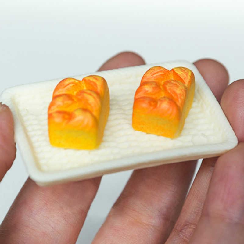 6 Cái/bộ Mô Phỏng Mini Bánh Mì Giả Vờ Chơi Đồ Chơi 1:12 Nhà Búp Bê Nhựa Mô Phỏng Thực Phẩm Nhà Bếp Cảnh Trang Trí Nhà Búp Bê Phụ Kiện