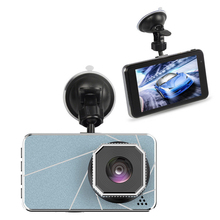 Car DVR Dash Camera Rear View Dual Camera Video 1080P Full HD 4.0 Cycle Recording Night Vision G-sensor Wide Angle Dash Cam