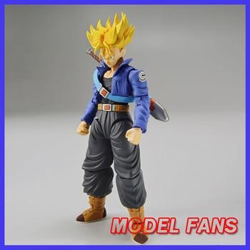 MODEL FANS Original BANDAI Dragon Ball Z Figure-rise Standard super saiyan future trunks Assembly Action Figure Toys