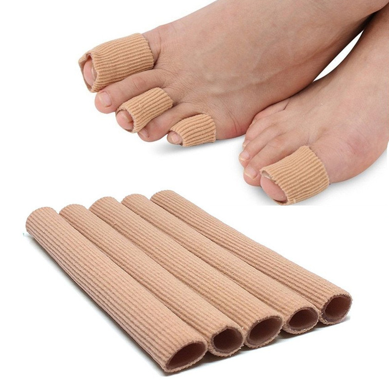 15cm Fabric Gel Tube Bandage Finger&Toes Maintain Cushion Corns Hallux Valgu Blisters Calluse Pain Relief Pads Insoles