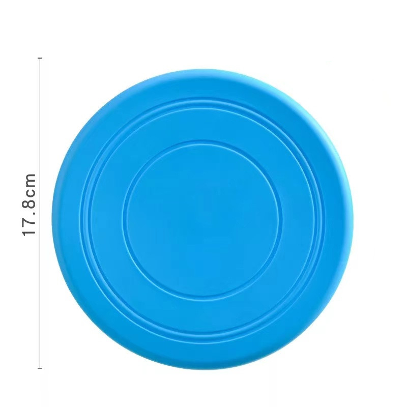 Colorful Toy For Puppy Dog Saucer Games Dogs Toys Large Pet Training Flying Disk Accessories French Bulldog Pitbull Cheap Goods 10
