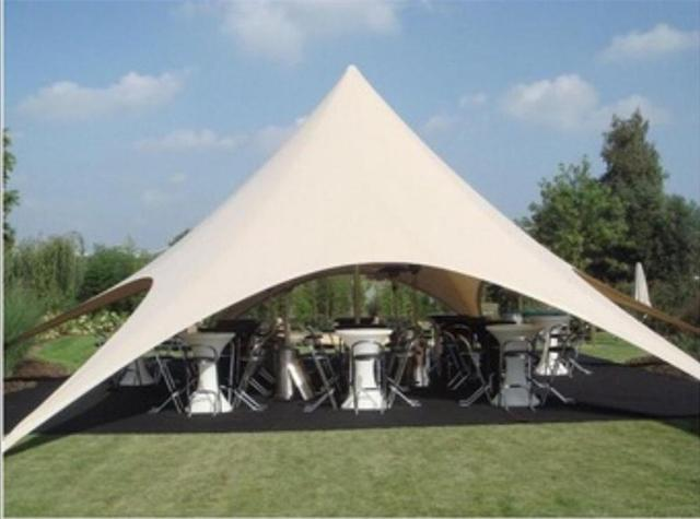 10m Diameter Single Pole Star Marquee PVC Material Stretch Event Tents for Outdoor Fair Reception Meeting Party Festival Display