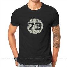 Camiseta de Sheldon's 73 para hombre, sudaderas de Humor de la serie Big Bang Theory, ropa para parte superior masculina, suelta y a la moda, novedad de verano