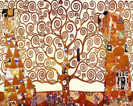 Painting By Numbers Kit Ustav Klimt Tree Of Life