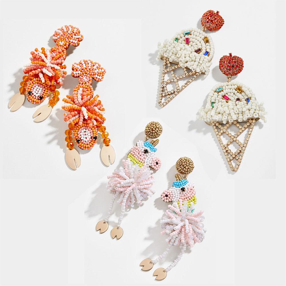 KOMi Cute Lobster Ice cream Flamingo ...