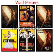 Kill Bill Vol. 2 Classic White Kraft Paper Paintings Vintage Wall Posters Stickers Home Decor Gift 42X30cm localism bill vol 12