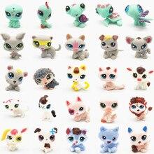 24 adet eğlenceli küçük Pet Shop LPS Pet PVC ayakta Model oyuncaklar çok sevimli ve sıcak hediyeler için arkadaşlar veya çocuk
