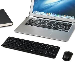 Image 5 - Motospeed G4000 2.4G لوحة مفاتيح وماوس لاسلكية كومبو بيئة العمل USB 2.0 1000 ديسيبل متوحد الخواص الماوس 104 مفاتيح المجلس