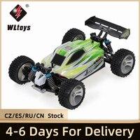 WLtoys-coche de carreras a control remoto para niños y adultos, vehículo de alta velocidad de Rally, 70 KM/H, escala 1:18, 2,4 GHz, 4WD