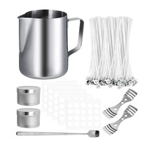 DIY Candle Crafting Tool Kit DIY Candles Craft Tools Candle Wick Candle Making Tool For Beginner Candle Making Wax Cup Set