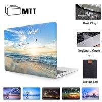 MTT 2020 Fall Für Macbook Pro Retina 13 15 16 Mit Touch Bar Abdeckung Für mac buch Air 11 12 13 zoll Landschaft Print Laptop Hülse