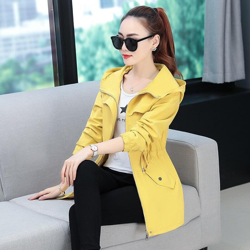 DHfinery Autumn coat female short paragraph 2019 new early autumn ins tide Korean version loose wild casual jacket windbreaker 1