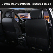 цена на HLFNTF Fully-enclosed leather plus linen four season For mercedes benz w2 Vito Viano Sprinter Maybach CLA CLK  car seat cushions