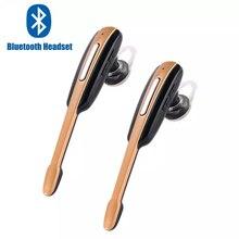 PK HM1000 블루투스 이어폰 Earloop 핸즈프리 비즈니스 스포츠 헤드셋 IOS 폰용 안드로이드 용 마이크가있는 스테레오 Auriculares