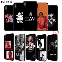 IYICAO ASAP Rocky A$AP Soft Phone Case for iPhone 11 Pro XR X XS Max 6 6S 7 8 Plus 5 5S SE Silicone TPU
