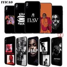 IYICAO ASAP Rocky A$AP Soft Phone Case for iPhone 11 Pro XR X XS Max 6 6S 7 8 Plus 5 5S SE Silicone TPU 7 Plus solstafir solstafir masterpiece of bitterness 2 lp