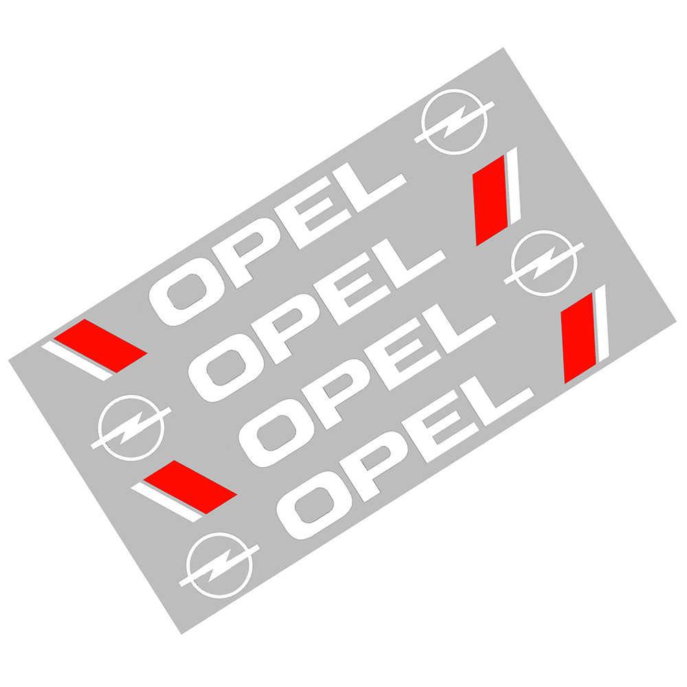 4 pz/lotto di Alta Qualità Logo del Portello di Automobile Maniglia Autoadesivi Della Decalcomania Per Opel Astra H Astra J Mokka Astra G Insignia astra Corsa Zafira