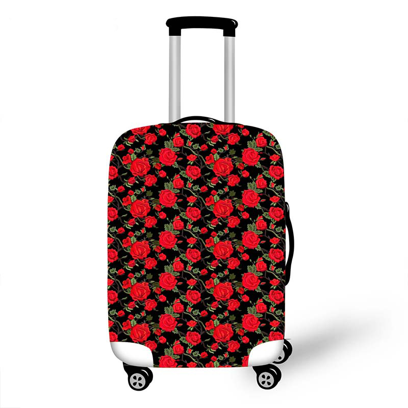 Elastic Luggage Protective Cover Case For Suitcase Protective Cover Trolley Cases Covers 3D Travel Accessories Fruit Pattern 100