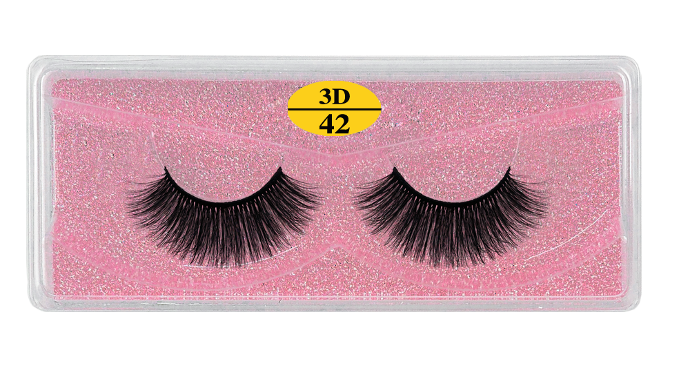 Hb31e3feea3114180ac9aa9dda7f8890ca - MB Eyelashes Wholesale 40/50/100/200pcs 6D Mink Lashes Natural False Eyelashes Long Set faux cils Bulk Makeup wholesale lashes