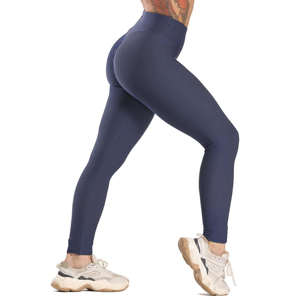 Women Sport Textured Booty Leggings 19