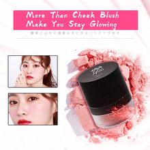 HANAJIRUSHI Puff Cheek Blusher Popping Face Blusher Powder Rouge Makeup Natural Blusher Puyo Puyo Cheek Blusher 2g