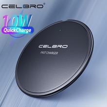 Kablosuz iphone şarj cihazı 11 XS Max X XR 8 artı 10W Qi kablosuz şarj alıcı Samsung için şarj pedi redmi not 8 Pro