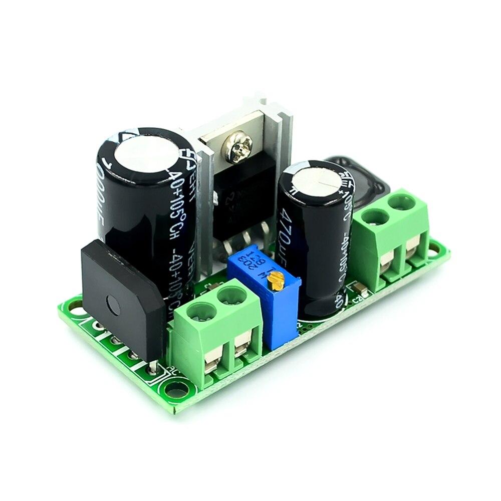 Lm2596hv ac/dc para dc buck step down conversor ajustável step-down 3a fonte de alimentação