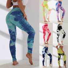 Women High Waist Leggings Sport Printed Fitness Yoga Pants Seamless Workout Gym Leggings Stretchy Scrunch Butt Running Legging printed stretchy gym leggings