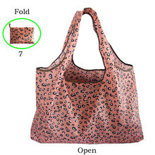 Women Large Tote Shopping Bag Reusable Oxford Cloth Portable Shoulder Bags Female Handbag Folding Pouch Co-friendly Bag(China)