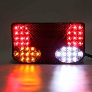 Image 2 - ضوء خلفي للسيارة LED ، مصباح الفرامل الخلفي ، إشارة الانعطاف للشاحنة ، مقطورة ، الشاحنة ، 12 فولت ، 2 قطعة