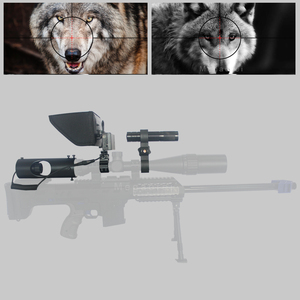 Sniper Zoom Outdoor Hunting optics sight Scope Tactical digital Laser Infrared night vision riflescope use in day & night(China)
