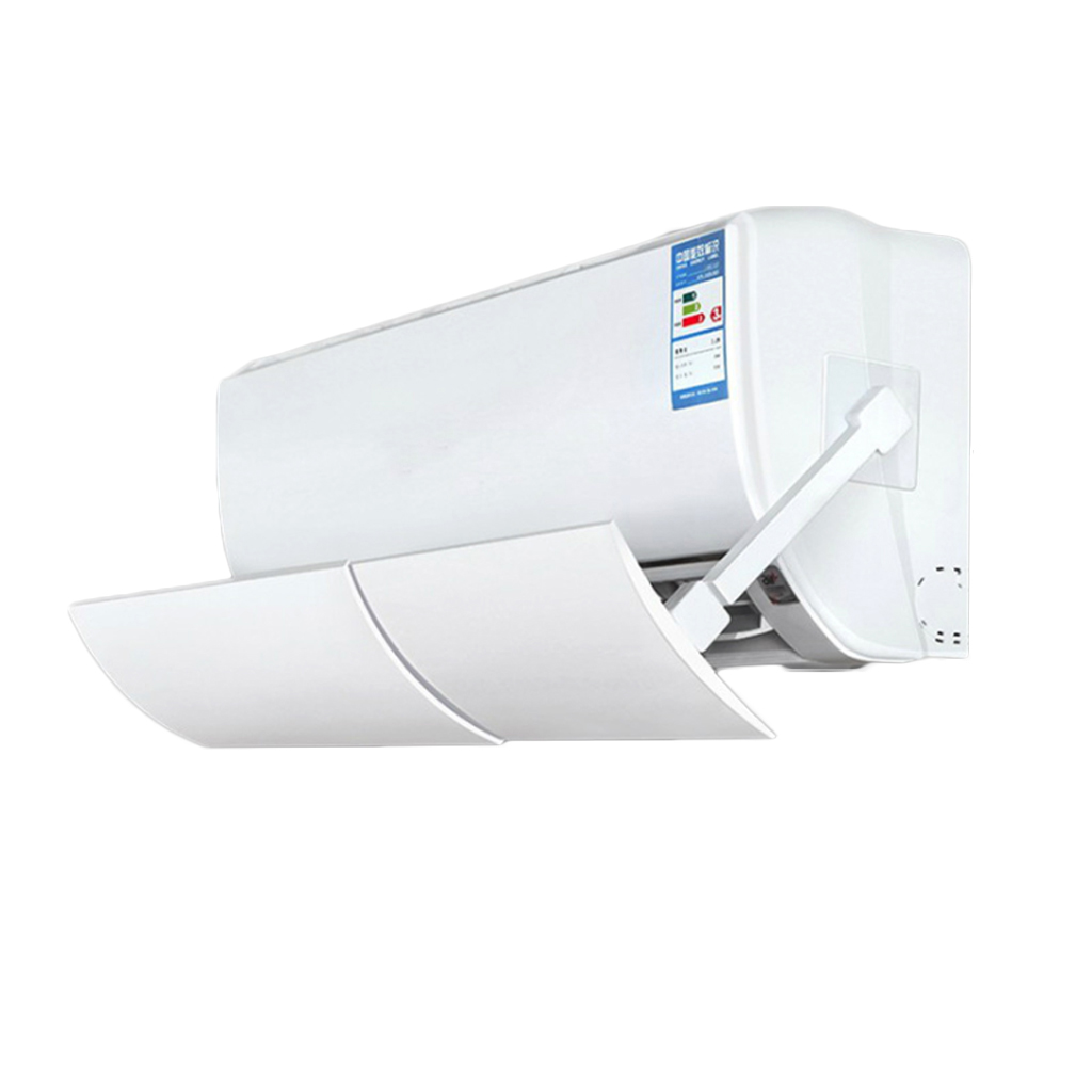 Anti Direct Blowing Air Conditioner Cover Cold Wind Sheild Air Conditioner Deflector Adjustable PVC Cold Wind Deflector Baffle(China)