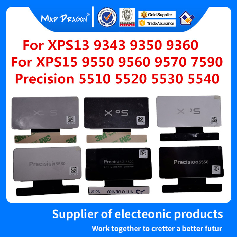 Laptop new Nameplate logo nameplate For Dell XPS 13 9343 9350 9360 XPS 15 9550 9560 9570 7590 Precision 5510 5520 5530 5540 image