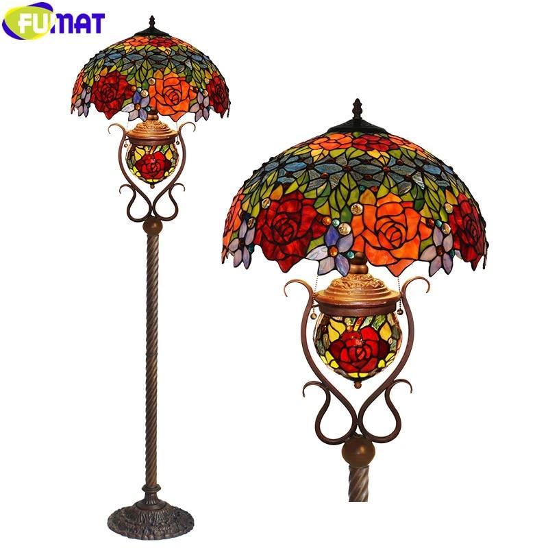 Fumat Lash Floor Lamp Tiffany Antique