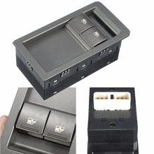 Interrupteur maître de fenêtre électrique | Gris, 2 boutons, pour Holden Commodore VZ 2002 2003 2004 2005 2006 92111644