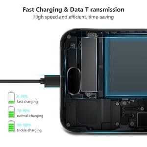 Кабель Micro USB 6A для быстрой зарядки Xiaomi Redmi Note5 Pro Android мобильный телефон кабель для передачи данных для Samsung Micro Charger 1/2/3 м|Кабели для мобильных телефонов|   | АлиЭкспресс