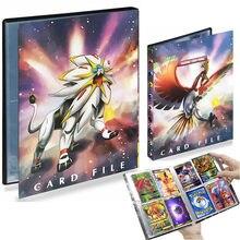 240 pièces Album Pokemon Porte-Carte TAKARA TOMY Jeu Carte Classeur Chargé Liste Collection de Cartes Carte Livre Enfants Jouets Cadeau