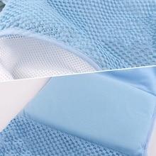 Newborn Infant Adjustable Bath Tub Pillow Seat Mat Cross Shaped Non-slip Baby Bath Net Mat Kids Bathtub Shower Cradle Bed Seats