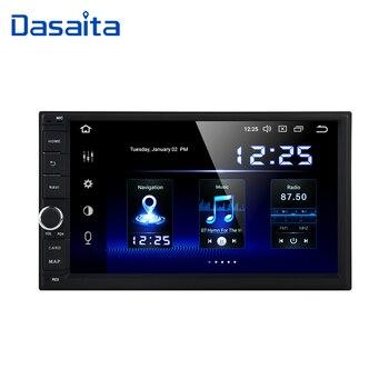 Dasaita 7 Android 9.0 Octa Core 4G+64G Universal Double 2 Din for Nissan Car Audio Stereo GPS Navigation Radio Car Multimedia