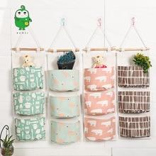 Животное-Бытовая трехслойная подвесная сумка многофункциональные крючки для стены сумка для хранения мусора Zhiwu Dai дверь спальни задняя висячая ба
