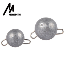 MEREDITH 10 Pcs/lot Fishing Lead Sinker Weight 2g-18g Hook Connector Quick Release Casting Bullet