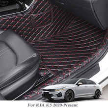 Car-Floor-Mat Kia K5 Cover Internal-Accessories PU for Auto-Foot-Pad LHD Car-Styling