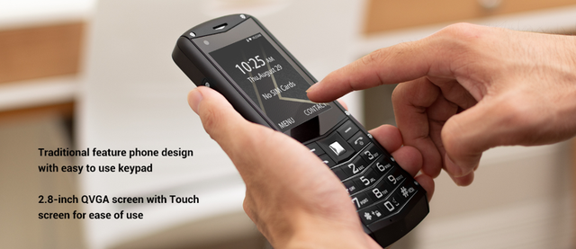 AGM M5 Qualcomm® MSM8909 4G Android based 2.8inch QVGA with touch screen IP68 certified, rugged Support Keypad WhatsApp
