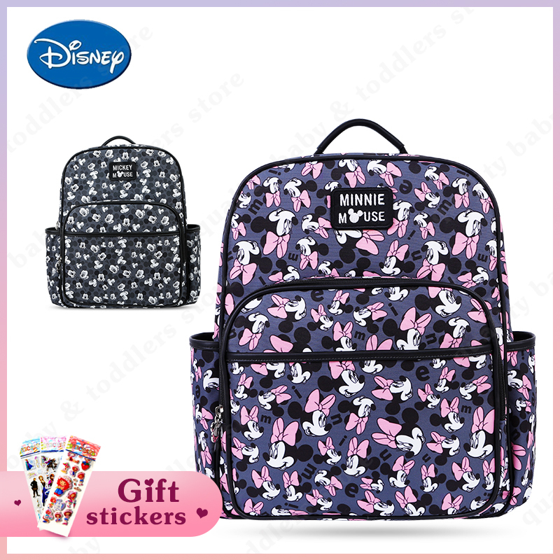 Disney Baby Diaper Bag Mummy Maternity Nappy Bag Fashion Backpack For Moms Baby Care Nursing Bag Baby Wet Bag New Arrival