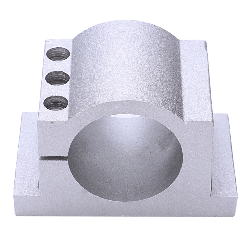 Engraving Machine Fixture 65Mm Cast Aluminum Fixture Spindle Motor Card Neck Holder Seat Engraving Machine Accessories