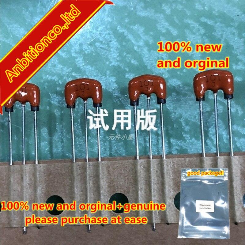10pcs 100% New And Orginal CFI06B1H101MF EMI Squeezing Three-terminal Filter 100PF 50V 1A 100p  In Stock