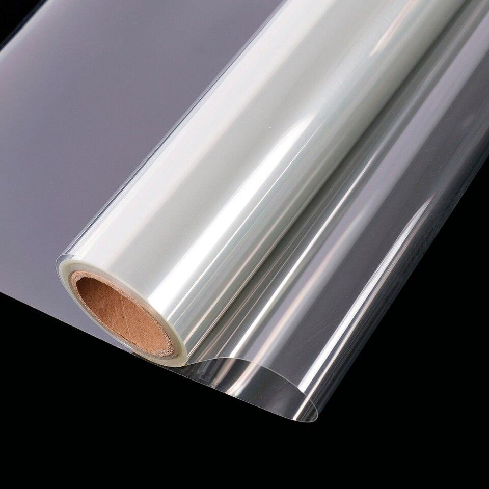 Sécurité de 4mil//0.1mm Film De Fenêtre En Verre Clair Protection Anti-Chocs UV Proof Vinyle