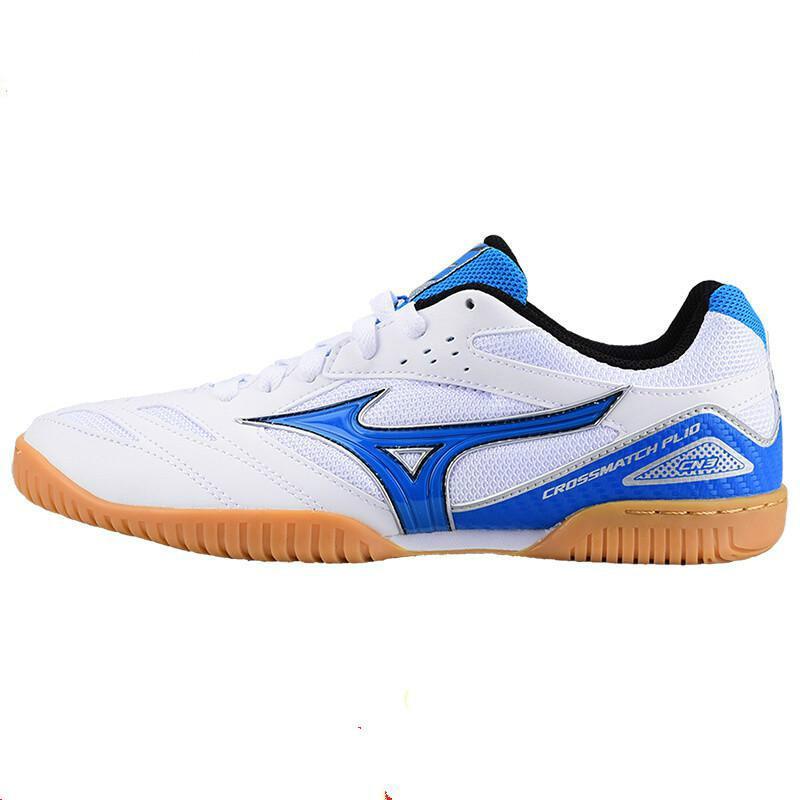 Оригинальная обувь Mizuno Cross Match Plio Cn для настольного тенниса для мужчин и женщин; обувь для тренировок в помещении; амортизирующая национальная команда; кроссовки - Цвет: 81GA183627