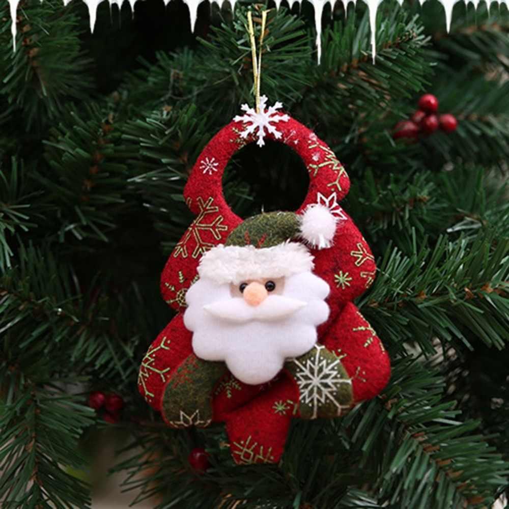 Nieuwe Kerstboom Accessoires niet-geweven Leuke Realistische Home Kerst Pop Kerstversiering Dansen Avond Opknoping Geschenken