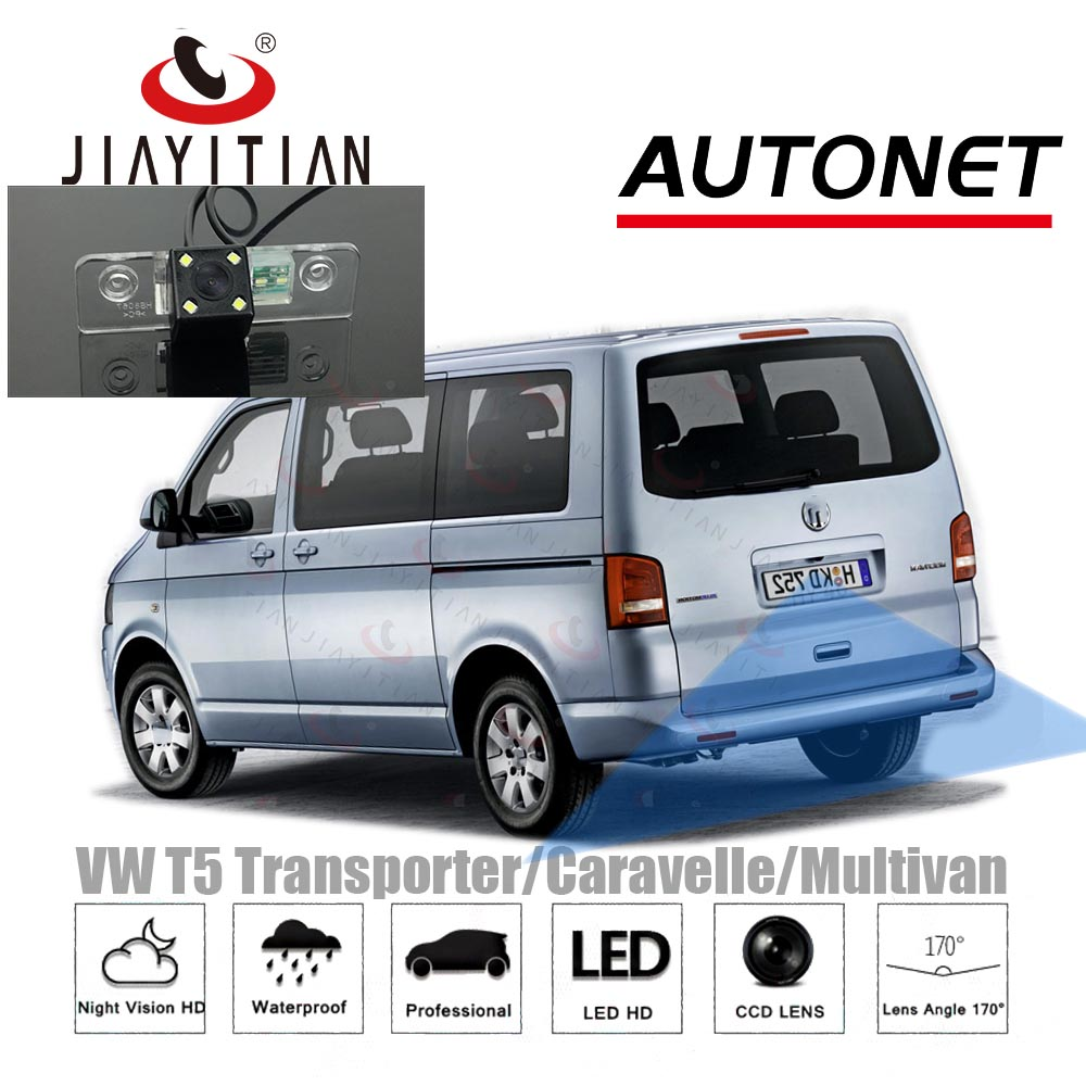 JIAYITIAN Reverse Camera For Volkswagen <font><b>VW</b></font> <font><b>T5</b></font> Transporter/Caravelle/<font><b>Multivan</b></font>/CCD Night Vision/backup Camera/License Plate camera image